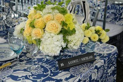 Kasowitz/Northland table photo by Rob Rich © 2009 robwayne1@aol.com 516-676-3939