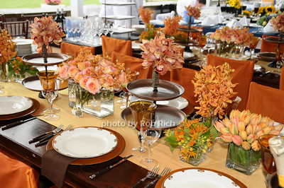 Wolffer Estates table photo by Rob Rich © 2009 robwayne1@aol.com 516-676-3939