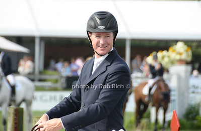 Bridgehampton- August 30:(l-r) McLain Ward, winner of the Hampton Classic Horseshow in Bridgehampton on August 30, 2009. photo by Rob Rich/SocietyAllure.com