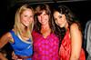Alexandra Blobgett, Melissa Ellin and  Emmanuele Chiriqui attend the Hampton Magazine cover party for Emmanuele Chiriqui at South Pointe Niteclub (July 23, 2011)