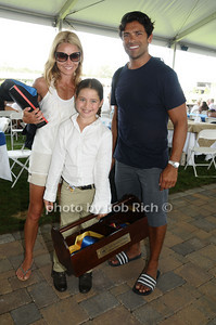 August 23- Bridgehampton:(l-r) Kelly Ripa, Lola Consuelos, and Mark Consuelos  attend  the  Hampton Classic Horseshow in  Bridgehampton. Photo by Rob Rich /SocietyAllure.com photo by Rob Rich © 2009 robwayne1@aol.com 516-676-3939