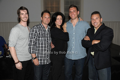 Comedians Mick Thomas, Tim Krompier, Carie Karavas, Chris DeStefano, and Paul Anthony photo by Rob Rich © 2011 robwayne1@aol.com 516-676-3939