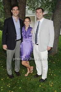Dylan Brix, Taylor White, Stewart Stout photo by Rob Rich/SocietyAllure.com © 2011 robwayne1@aol.com 516-676-3939