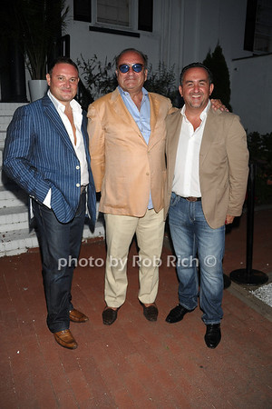 Demitrio, Anthony Niosi, Gianni Mercury photo by Rob Rich/SocietyAllure.com © 2011 robwayne1@aol.com 516-676-3939