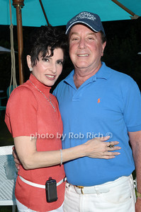 Southampton- July 12:(l-r)  Arlene Lazare, Alan Lazare  attend  the Poolside Lawn party at the Southampton Inn on Sunday, July 12, 2009.    (photo by Rob Rich/SocietyAllure.com)