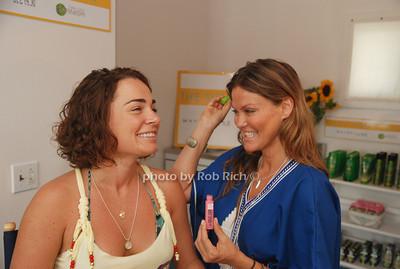 Savannah Buffett and Kerry Malouf at the Maybelline: New York & Garnier Surf Salon