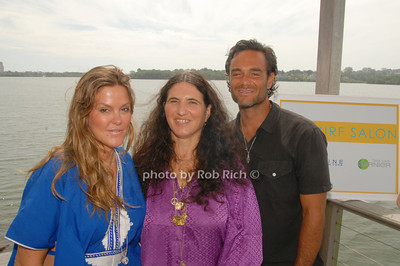 Kerry Malou, Helen Fica Lora and Danny DiMauro at the Maybelline: New York & Garnier Surf Salon