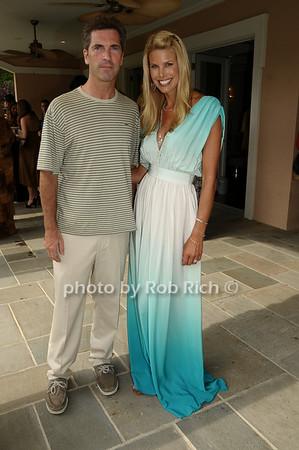 Justin Mitchell, Beth Ostrosky<br /> photo by Rob Rich © 2009 robwayne1@aol.com 516-676-3939