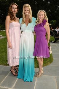 Jamie Jo Harris, Beth Ostrosky, Heidi Shechter photo by Rob Rich © 2009 robwayne1@aol.com 516-676-3939