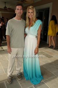 Justin Mitchell, Beth Ostrosky photo by Rob Rich © 2009 robwayne1@aol.com 516-676-3939