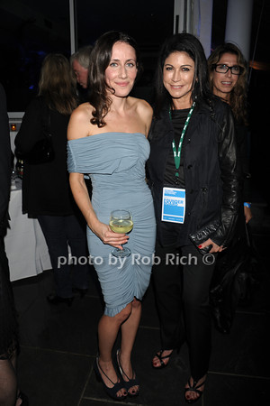 Violet Gaynor and Caroline Hirsch attend the openig night party of the Hamptons International Film Festival at East Hampton Point (October 13, 2011)