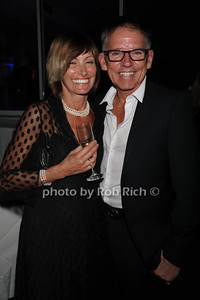 Tracey Gardell and Mick Bundul attend the openig night party of the Hamptons International Film Festival at East Hampton Point (October 13, 2011)