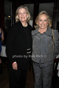 """Jane Murray and Ann Barish attend the reception for the screening of """"The Artist"""" at 75 Main restaurant(October 15, 2011)."""