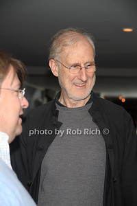 """James Cronwell attends the reception for the screening of """"The Artist"""" at 75 Main restaurant(October 15, 2011)."""