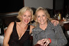 """Penelope Ann Millert and Ann Barish attend the reception for the screening of """"The Artist"""" at 75 Main restaurant(October 15, 2011)."""