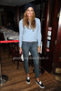 """Kelly Bensimon attends the reception for the screening of """"The Artist"""" at 75 Main restaurant(October 15, 2011)."""