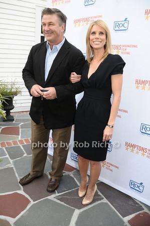 Alec Baldwin, Cheryl Hines<br /> photo by Rob Rich © 2009 516-676-3939 robwayne1@aol.com
