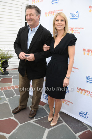 Alec Baldwin, Cheryl Hines<br /> photo by Rob Rich © 2009 516-676-3939 robwayne1@aol.com