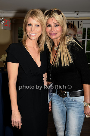 Cheryl Hines, Karen Goerl<br /> photo by Rob Rich © 2009 516-676-3939 robwayne1@aol.com