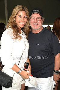Melissa Pina and Bobby Campbell attend the Bridgehampton Polo Challenge at Two Trees Farm (July 30, 2011)