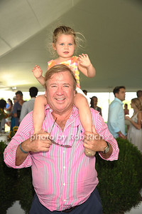 Bettina Gannon and Tim Gannon attend the Bridgehampton Polo Challenge at Two Trees Farm (July 30, 2011)