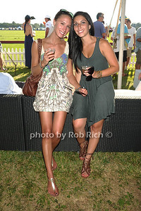 Kaitlyn Goldgraven and Mackenzie Reef attend the Bridgehampton Polo Challenge at Two Trees Farm (July 30, 2011)