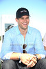 Kris Humphries attends the Bridgehampton Polo Challenge at Two Trees Farm (July 30, 2011)