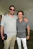 Dave Mason and David Hryck attend the Bridgehampton Polo Challenge at Two Trees Farm (July 30, 2011)