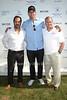 Chris Del Gatto, Kris Humphries, and Phil Schwetz attend the Bridgehampton Polo Challenge at Two Trees Farm (July 30, 2011)