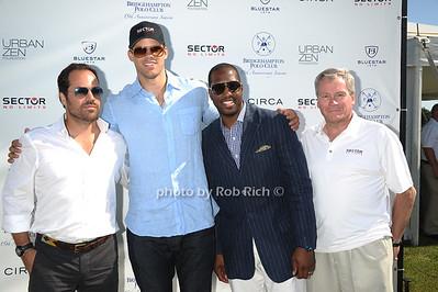 Chris Del Gatto, Kris Humphries, Isaac Carree, Phil Schwetz  photo by Rob Rich/SocietyAllure.com © 2011 robwayne1@aol.com 516-676-3939