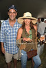 Blue Star Jets owner Todd Rome and designer Donna Karan attend the Bridgehampton Polo Challenge at Two Trees Farm (July 30, 2011)
