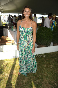 Shamin Abas attends the Bridgehampton Polo Challenge at Two Trees Farm (July 30, 2011)