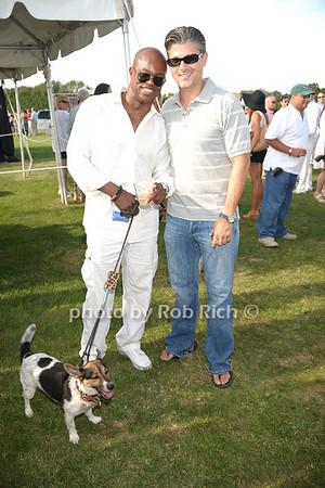 Merv matheson, Frank Cilione, Dog:Versace] photo by Rob Rich/SocietyAllure.com © 2011 robwayne1@aol.com 516-676-3939