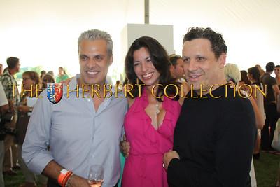 "Eric Ripert ""Le Bernadin"" and wife Sandra Ripert Hosts along with Isaac Mizrahi Celebrity Guest 'Chef'"