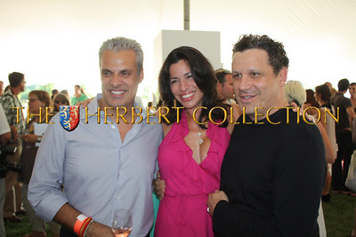 "Eric Ripert ""Le Bernadin"" and wife Sandra Ripert Hosts along with Isaac Mizrahi Celebrity Guest 'Chef'"