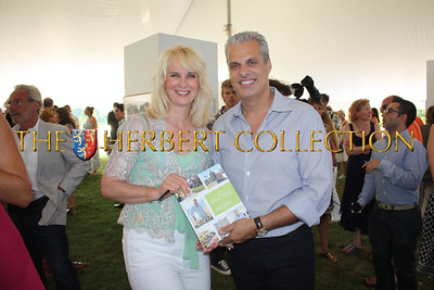 Sara Herbert-Galloway (me) with Eric Ripert after he signed one of his books for me.