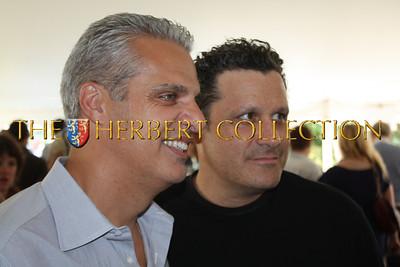 Eric Ripert and Isaac Mizrahi