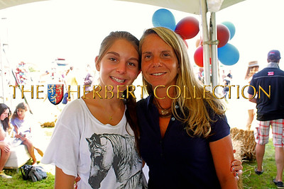 Emma Schenker with mother, Lisa Schenker