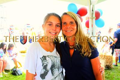 Emma Schenker with mother, Lisa Schenker