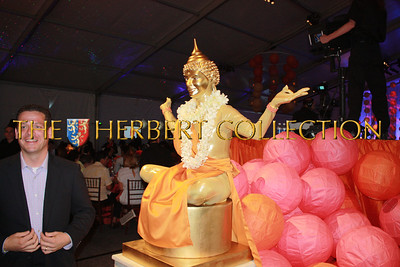 A real, live Buddah surprises guests