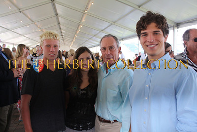Liam McConnell, Alana Galloway, Mayor Michael Bloomberg, Justin Galloway