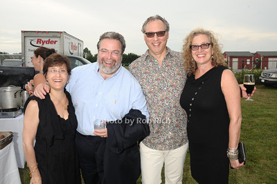Ann Nierporent, Drew Nierporent, Steve Frankel, and Debby Rudoy