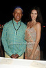 Russell Simmons and supermodel Hana Nitsche