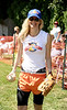 Actress Lori Singer ready to play ball at the  Artists& Writers 65th annual softball game  in East Hampton  to raise money for East End Hospice. 8-17-13.photo by Rob Rich/SocietyAllure.com © 2013 robwayne1@aol.com 516-676-3939