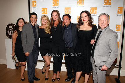 Dayle Reyfel, Eugene Pack, Christie Brinkley, Brooke Shields, Ralph Macchio, Jennifer Tilly, Dick Cavett photo by R.Cole for Rob Rich/SocietyAllure.com © 2013 robwayne1@aol.com 516-676-3939