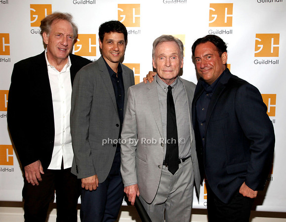 Alan Zweibel, Ralph Macchio,, Dick Cavett,  Eugene Pack photo by R.Cole for Rob Rich/SocietyAllure.com © 2013 robwayne1@aol.com 516-676-3939