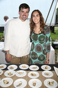 Robert Biva and  Shannon Biva from the Frisky Oyster restaurant photo by Rob Rich/SocietyAllure.com © 2013 robwayne1@aol.com 516-676-3939