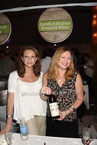 Louisa Peeker and Maria Sufrin from Borghese vineyard photo by Rob Rich/SocietyAllure.com © 2013 robwayne1@aol.com 516-676-3939
