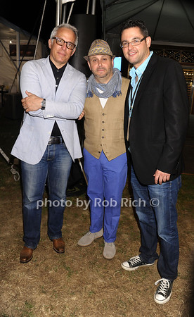 Geoffrey Zakarian, Scott Feldman, and  Brett Friedman photo by Rob Rich/SocietyAllure.com © 2013 robwayne1@aol.com 516-676-3939