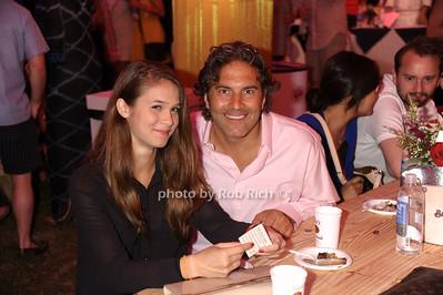Nevy Schalaudzk and Mike Wudyka photo by Rob Rich/SocietyAllure.com © 2013 robwayne1@aol.com 516-676-3939